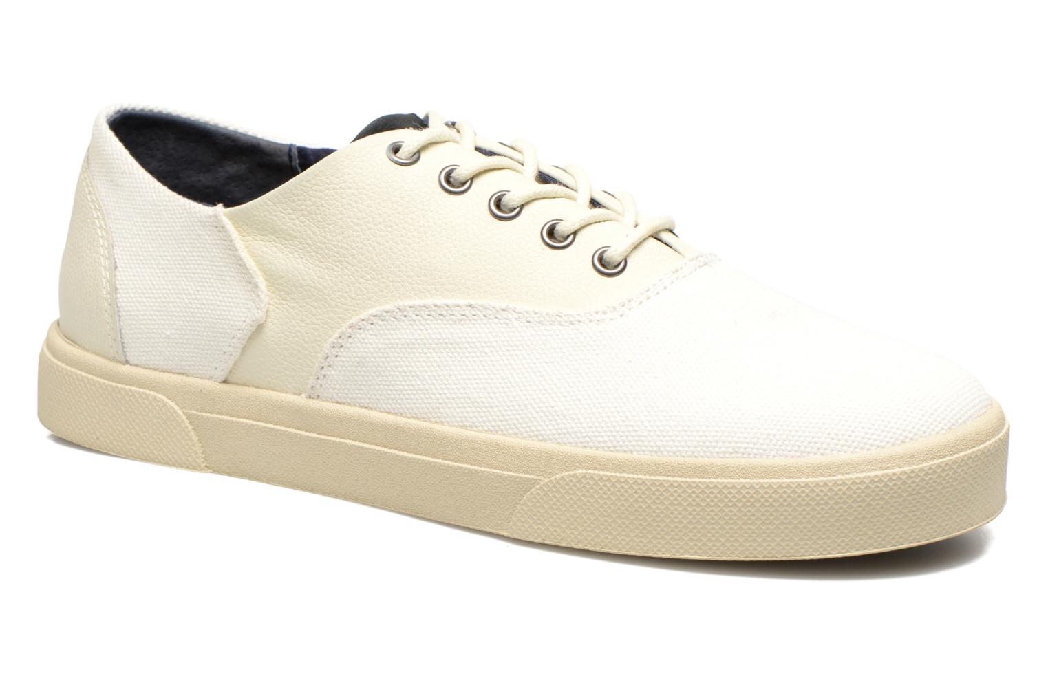 Hope Trainer Canvas/Leather Grain Dove/Dove
