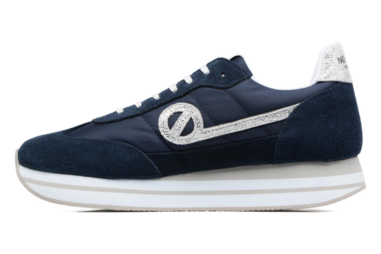 Sneaker No Name Eden Jogger blau ansicht von vorne