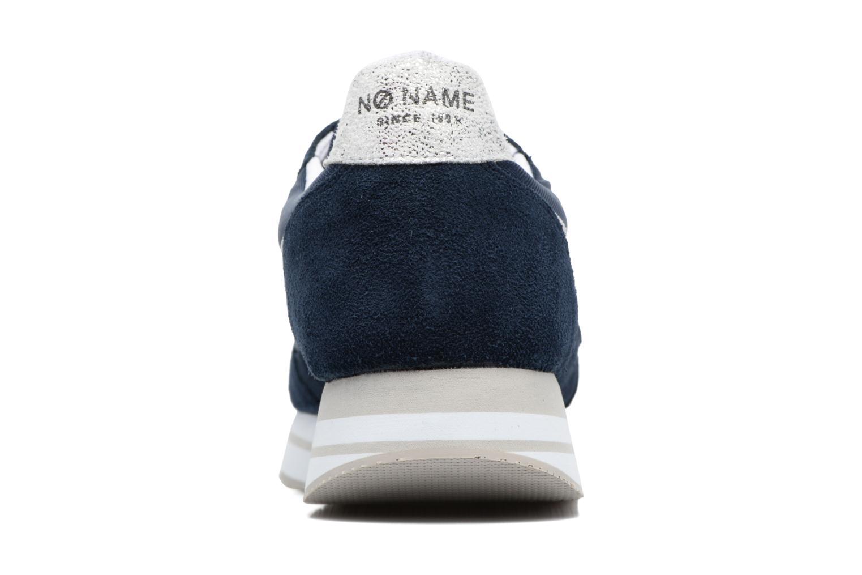 Sneaker No Name Eden Jogger blau ansicht von rechts