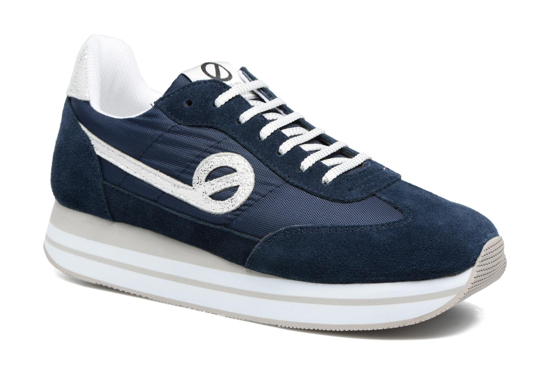 Sneakers No Name Eden Jogger Blauw detail