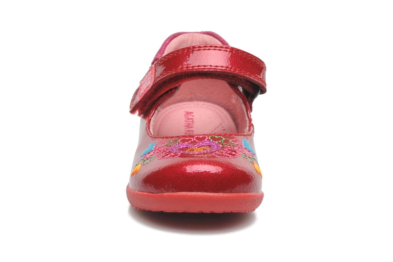 Ballerines Agatha Ruiz de la Prada Irina Rouge vue portées chaussures