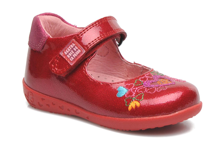 Ballerines Agatha Ruiz de la Prada Irina Rouge vue détail/paire