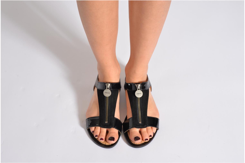Sandales et nu-pieds Geox D Sweetness B D42L7B Beige vue bas / vue portée sac