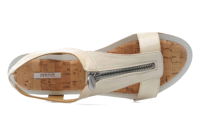 Sandales et nu-pieds Geox D Sweetness B D42L7B Beige vue gauche