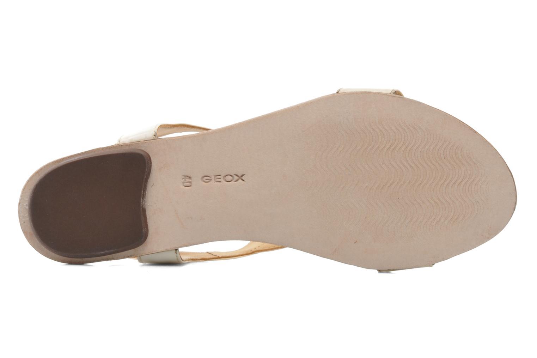 Sandales et nu-pieds Geox D Sweetness B D42L7B Beige vue haut