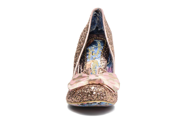 Escarpins Irregular Choice Nick of Time Or et bronze vue portées chaussures