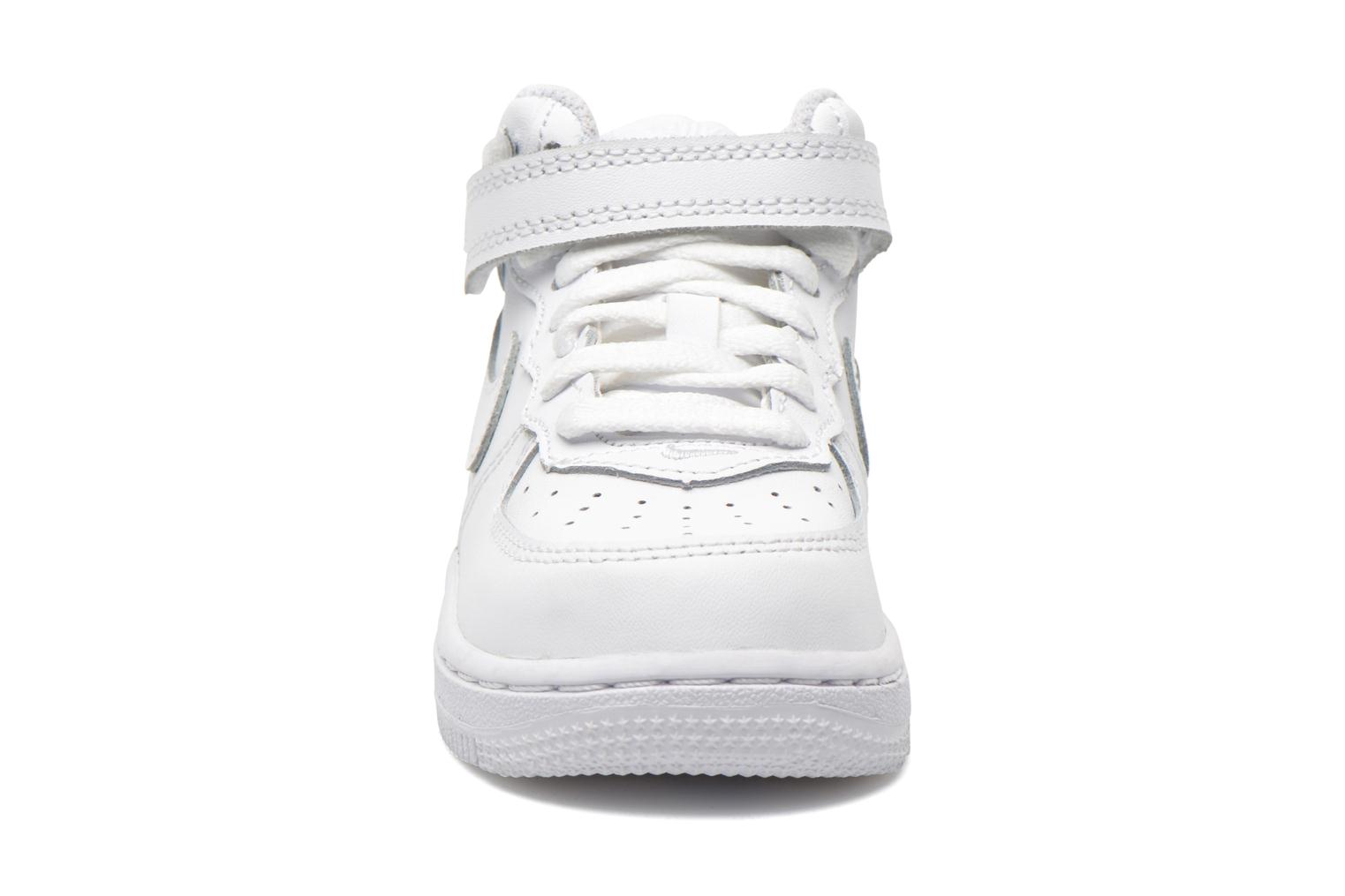 Air Force 1 Mid (TD) White White-White
