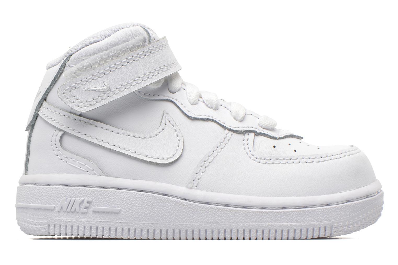 Baskets Nike Air Force 1 Mid (TD) Blanc vue derrière