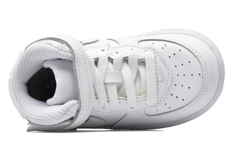 Baskets Nike Air Force 1 Mid (TD) Blanc vue gauche
