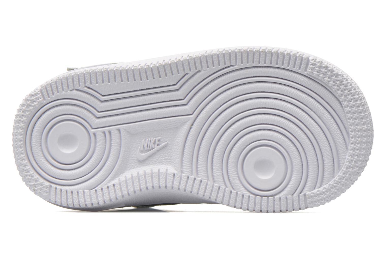 Baskets Nike Air Force 1 Mid (TD) Blanc vue haut