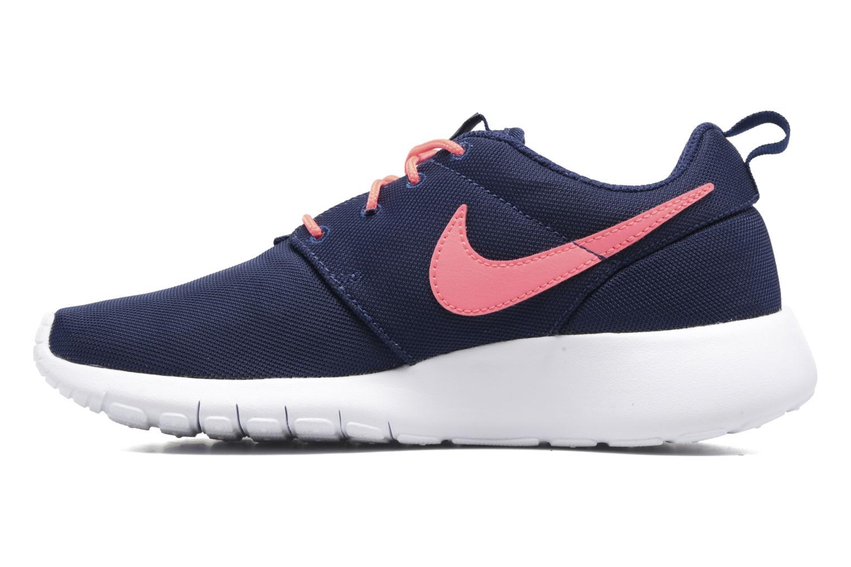 Sneakers Nike NIKE ROSHE ONE (GS) Azzurro immagine frontale
