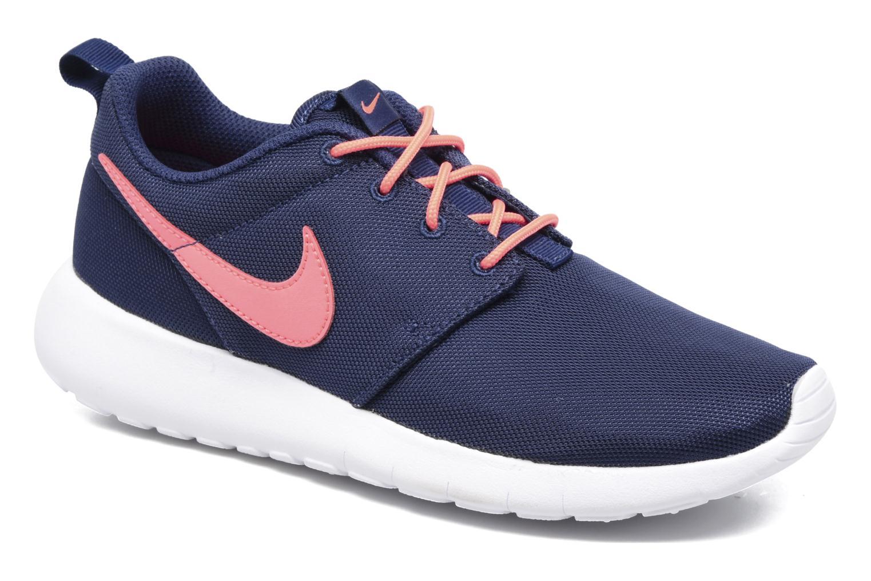Baskets Nike NIKE ROSHE ONE (GS) Bleu vue détail/paire