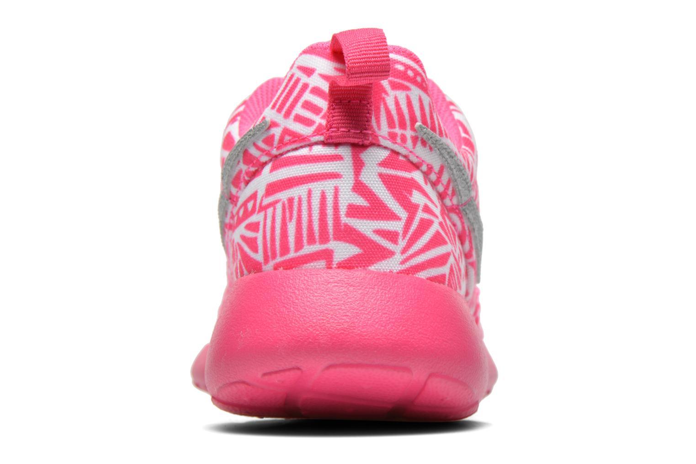 Sneaker Nike NIKE ROSHE ONE PRINT (GS) weiß ansicht von rechts