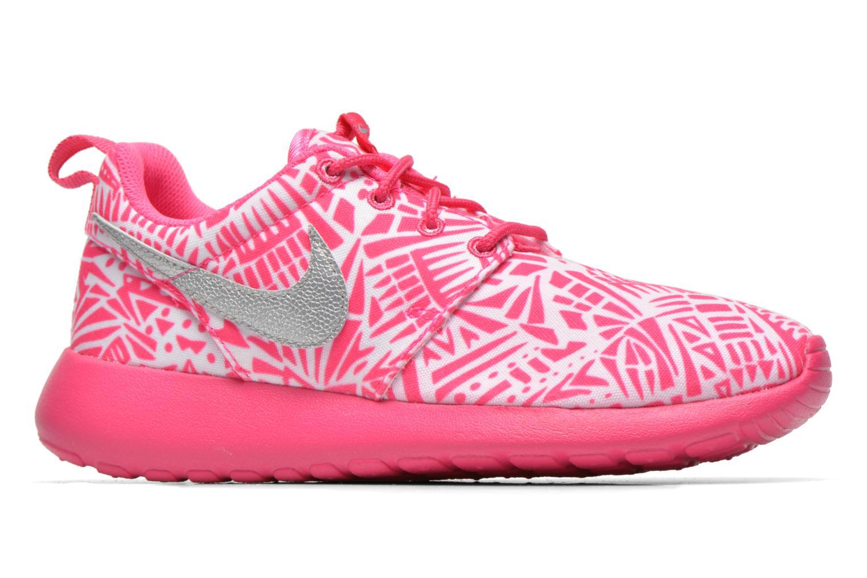 Sneaker Nike NIKE ROSHE ONE PRINT (GS) weiß ansicht von hinten