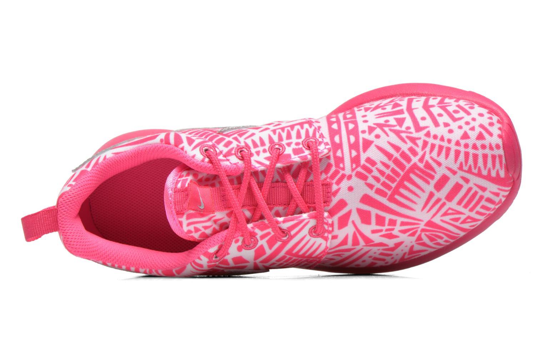 Sneaker Nike NIKE ROSHE ONE PRINT (GS) weiß ansicht von links