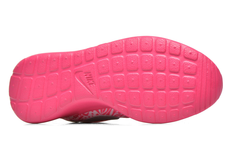 Sneaker Nike NIKE ROSHE ONE PRINT (GS) weiß ansicht von oben