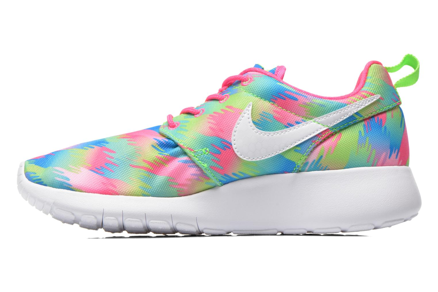 Baskets Nike NIKE ROSHE ONE PRINT (GS) Multicolore vue face