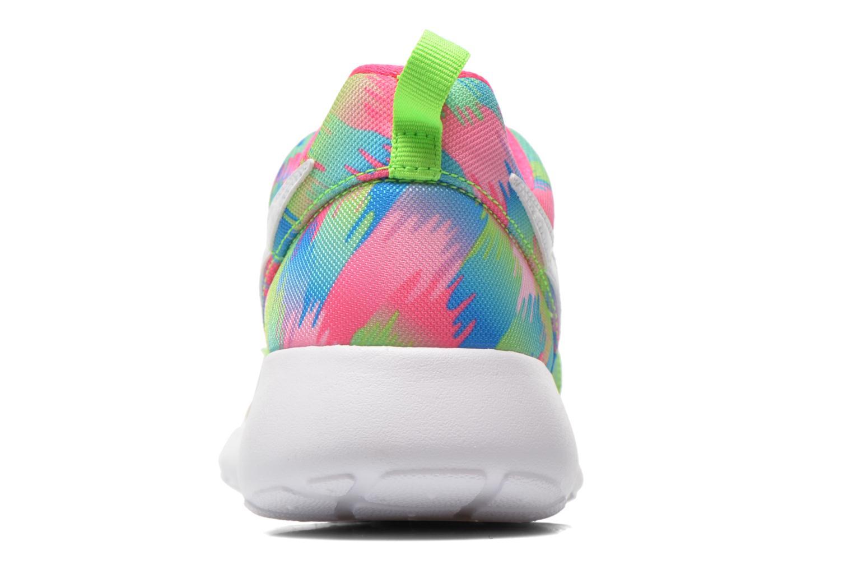 Baskets Nike NIKE ROSHE ONE PRINT (GS) Multicolore vue droite