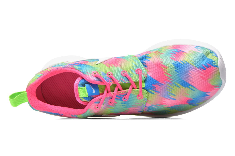 Sneaker Nike NIKE ROSHE ONE PRINT (GS) mehrfarbig ansicht von links