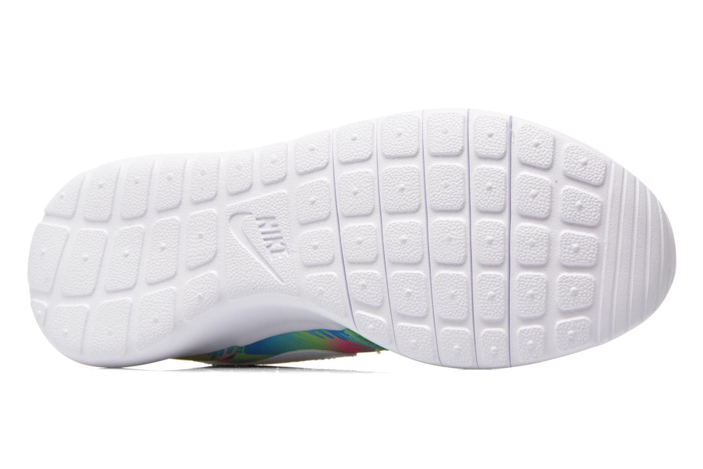 Baskets Nike NIKE ROSHE ONE PRINT (GS) Multicolore vue haut