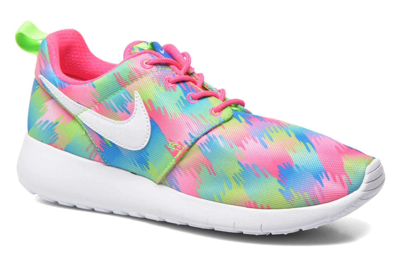 Sneakers Nike NIKE ROSHE ONE PRINT (GS) Multicolor detail