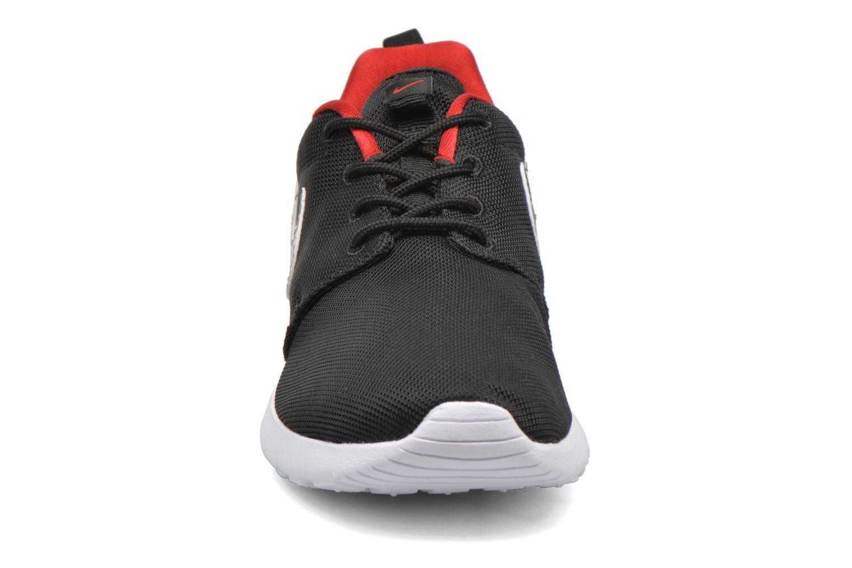 Sneaker Nike NIKE ROSHE ONE PRINT (GS) schwarz schuhe getragen