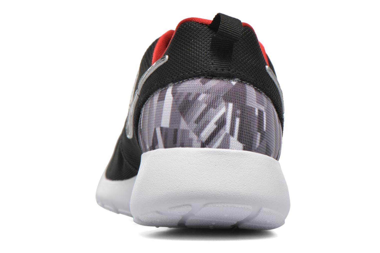 Sneaker Nike NIKE ROSHE ONE PRINT (GS) schwarz ansicht von rechts