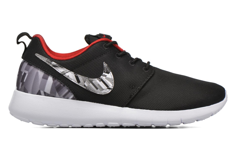 Baskets Nike NIKE ROSHE ONE PRINT (GS) Noir vue derrière