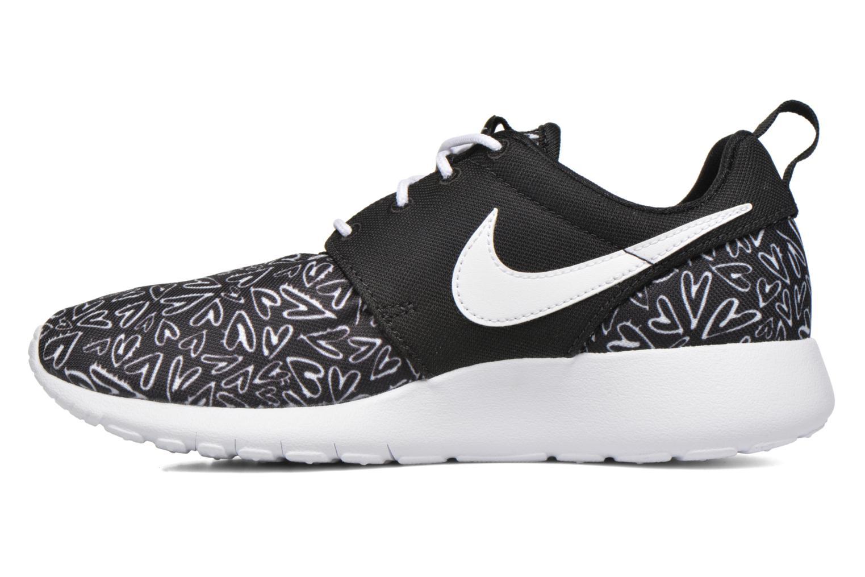 Sneaker Nike NIKE ROSHE ONE PRINT (GS) schwarz ansicht von vorne