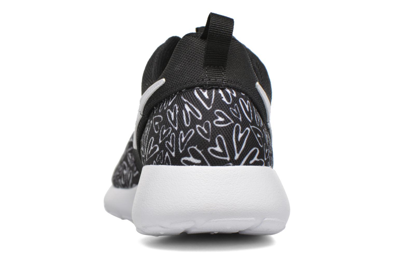 NIKE ROSHE ONE PRINT (GS) Black/White-Lava Glow