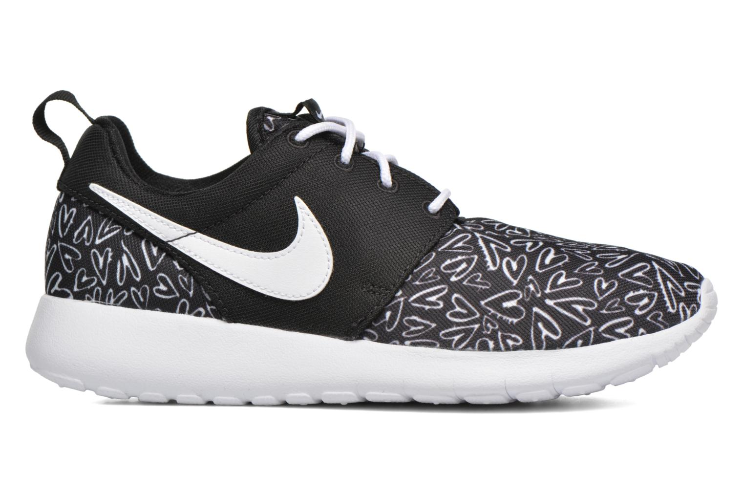 NIKE ROSHE ONE PRINT (GS) Black/White-Lava Glow