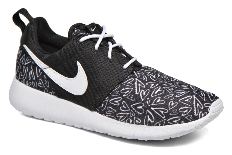 Sneakers Nike NIKE ROSHE ONE PRINT (GS) Zwart detail