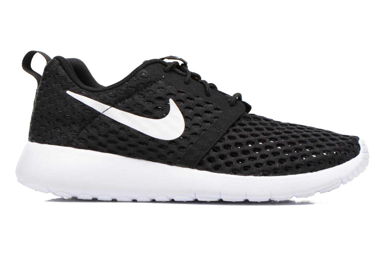 Sneaker Nike ROSHE ONE FLIGHT WEIGHT (GS) schwarz ansicht von hinten