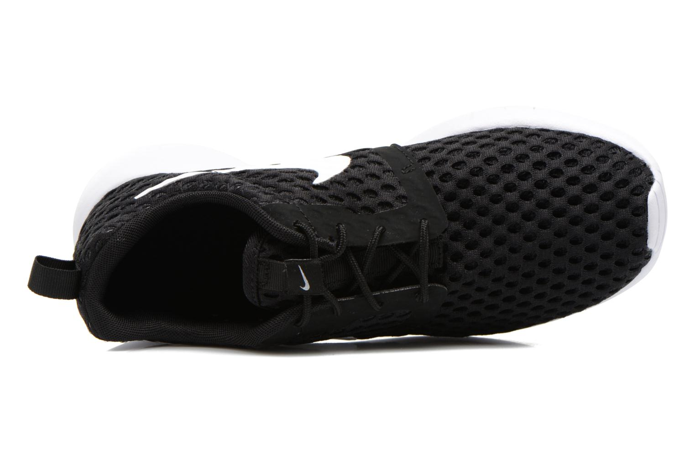 Sneaker Nike ROSHE ONE FLIGHT WEIGHT (GS) schwarz ansicht von links