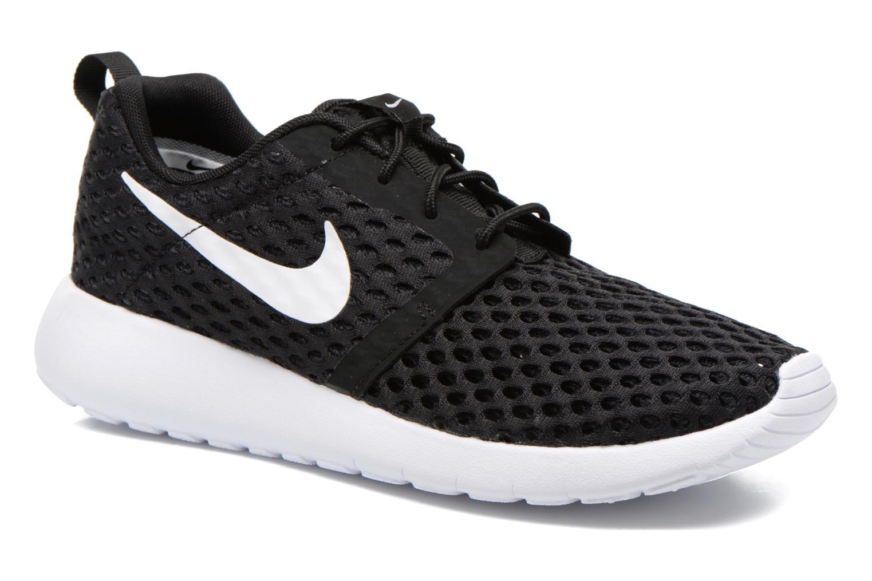 Sneaker Nike ROSHE ONE FLIGHT WEIGHT (GS) schwarz detaillierte ansicht/modell