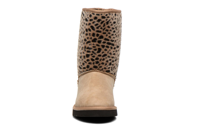 Bottines et boots Esprit Uma Leo Boot 050 Beige vue portées chaussures