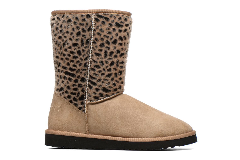Boots en enkellaarsjes Esprit Uma Leo Boot 050 Beige achterkant
