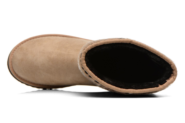 Boots en enkellaarsjes Esprit Uma Leo Boot 050 Beige links