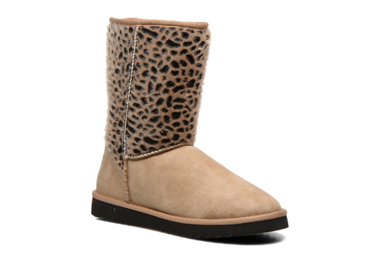 Bottines et boots Esprit Uma Leo Boot 050 Beige vue détail/paire