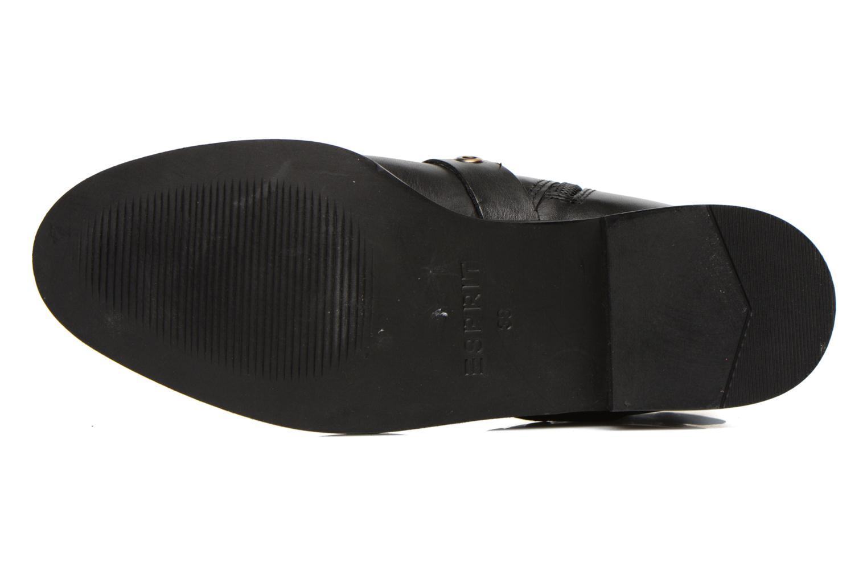 Bottines et boots Esprit Cara Bootie 032 Noir vue haut