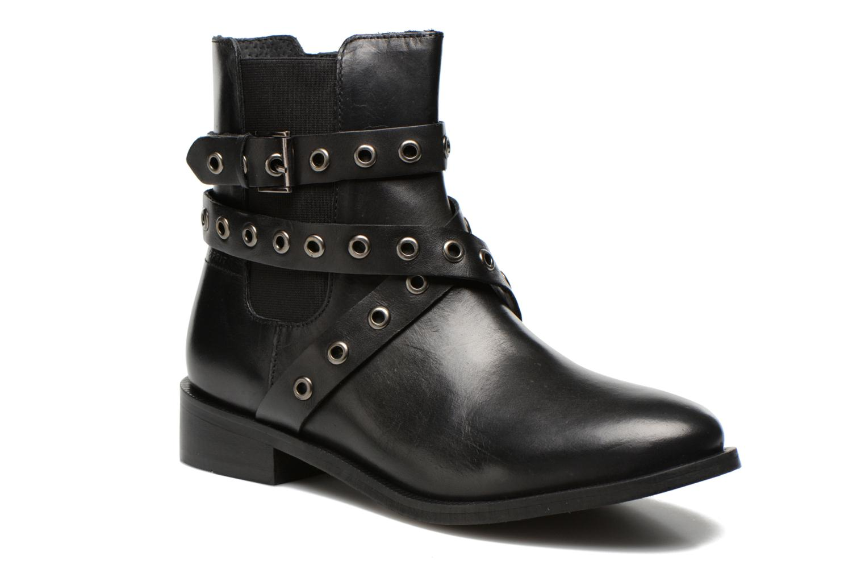Boots en enkellaarsjes Esprit Cara Bootie 032 Zwart detail