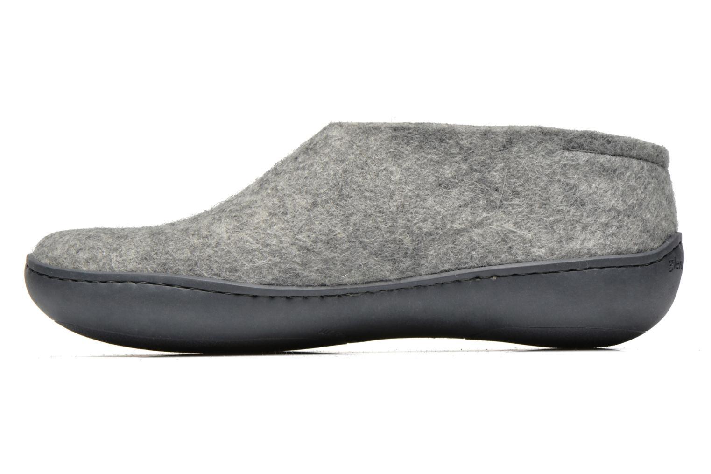 Pantoffels Glerups Porter Gomme M Grijs voorkant