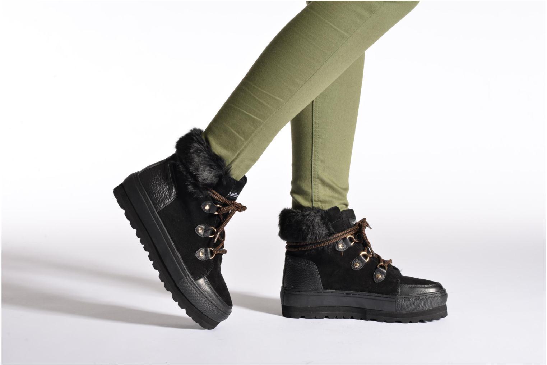 Bottines et boots Sixty Seven Harvyn Noir vue bas / vue portée sac