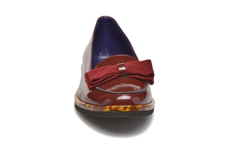 Mocassins Anaki Spock Bordeaux vue portées chaussures
