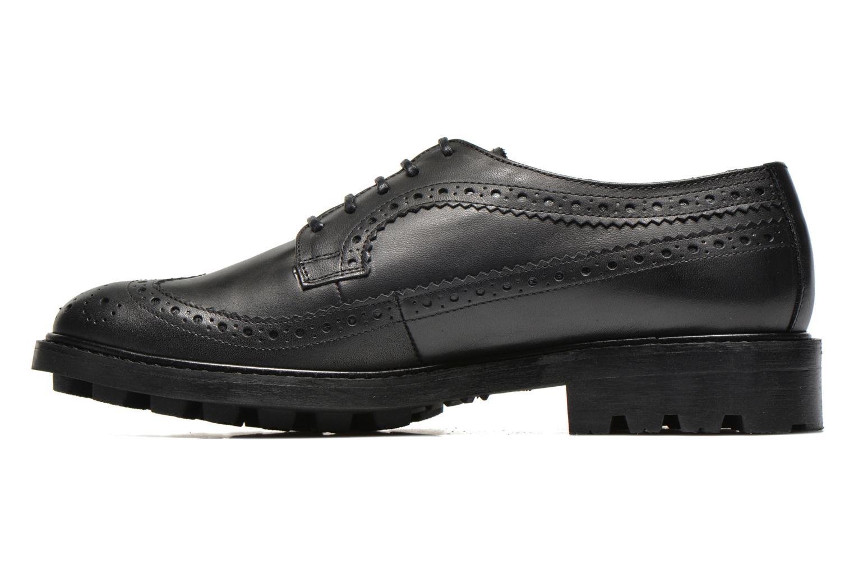 Chaussures à lacets Anaki Arianne Noir vue face