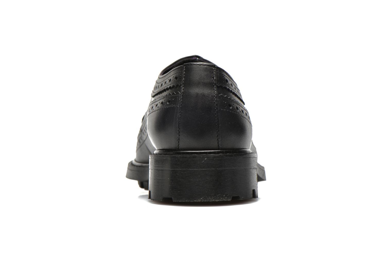 Chaussures à lacets Anaki Arianne Noir vue droite