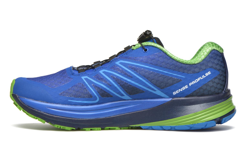 Chaussures de sport Salomon Sense Propulse Bleu vue face