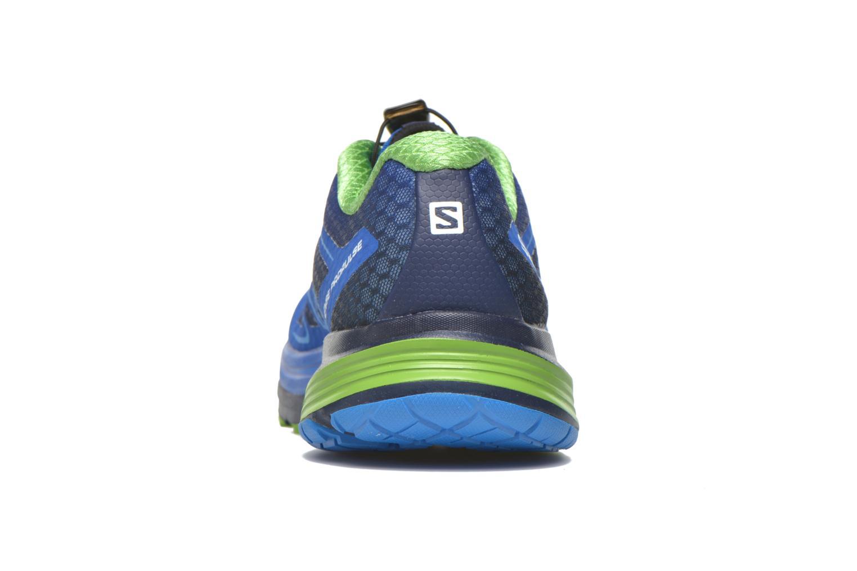 Sportschuhe Salomon Sense Propulse blau ansicht von rechts