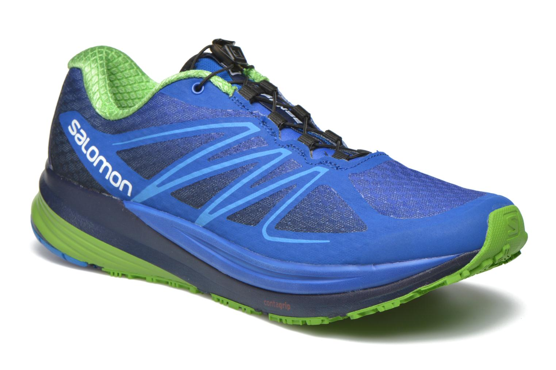Sportschuhe Salomon Sense Propulse blau detaillierte ansicht/modell