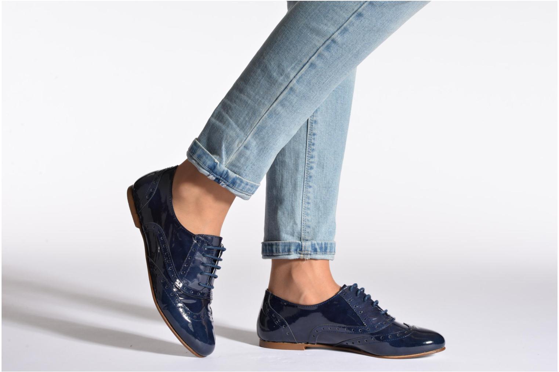 Chaussures à lacets Ippon Vintage Woody lux Marron vue bas / vue portée sac